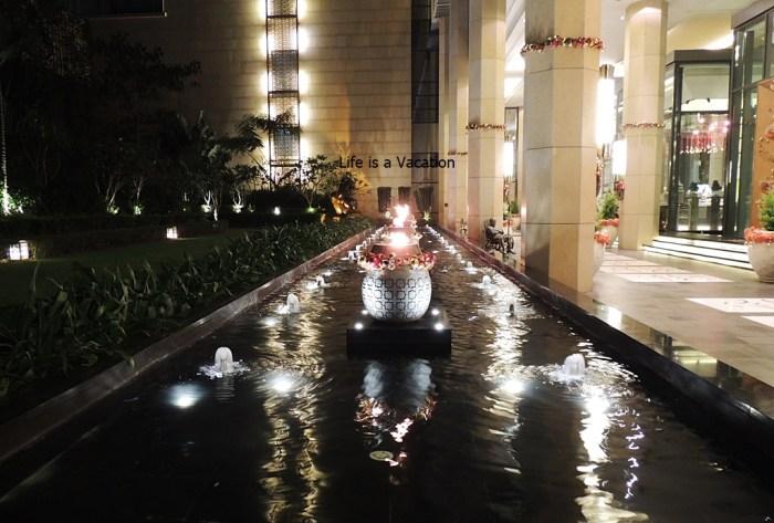 Lantern in Ritz Carlton Chinese