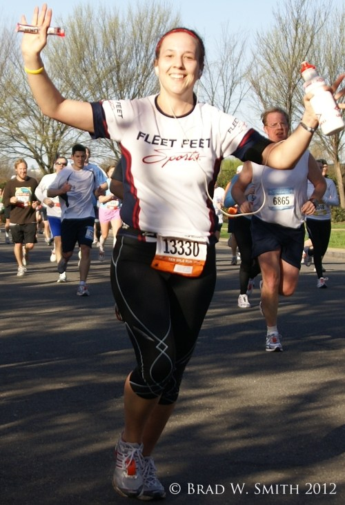 Life is Not a Road Race, LifeIsHOTBlog, Brad W. Smith photographer, Jubilent runner in road race