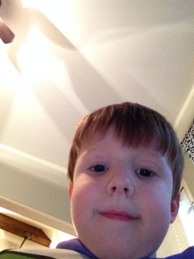 That my oldest takes pretty good selfies