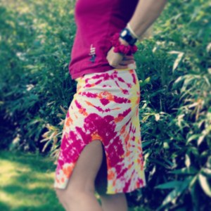 Long Skirt DIY