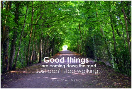 Good things are coming