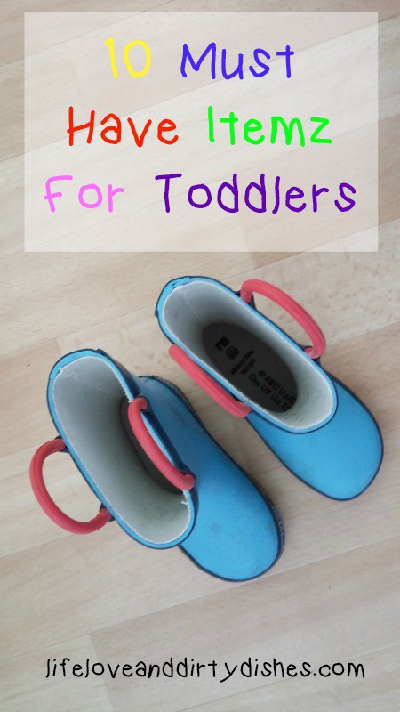 essential things for toddlers