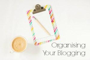 Organising Featured Image