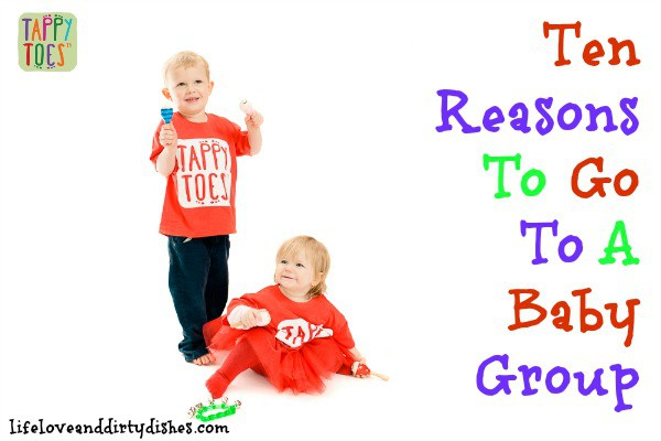 10 Reasons to go to a baby group post image