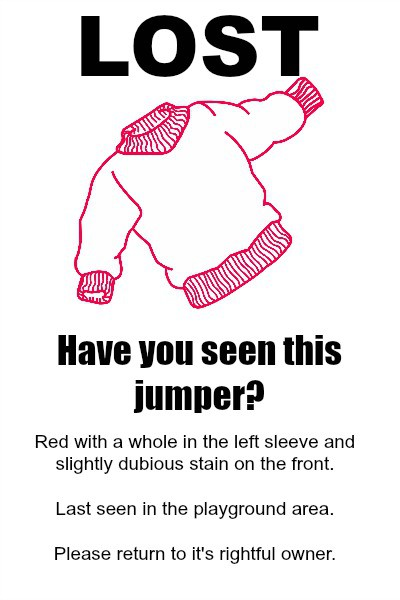 Lost Jumper