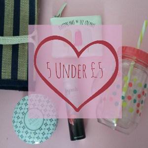 five under £5