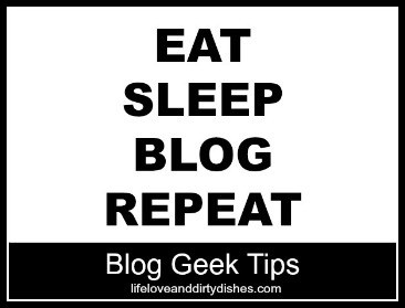Blog Geek Tips Logo: East Sleep Blog Repeat