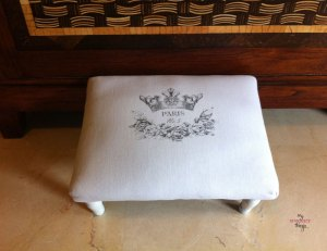 French Foot Stool