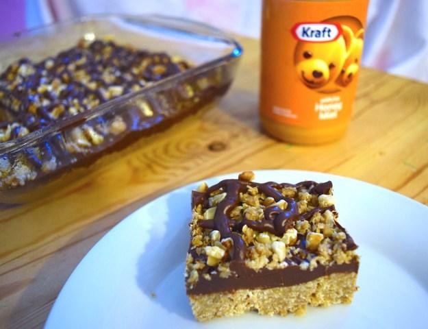 No-Bake Kraft Peanut Butter with Honey Bars
