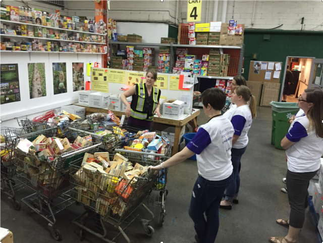 Volunteer with your Kids - Food Bank