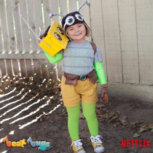Halloween movies - netflix Costumes - beat bugs willow