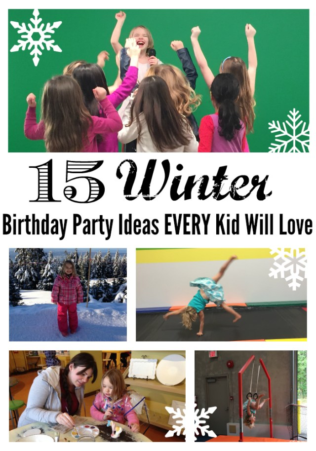 Winter Birthday Party Ideas Green Screen