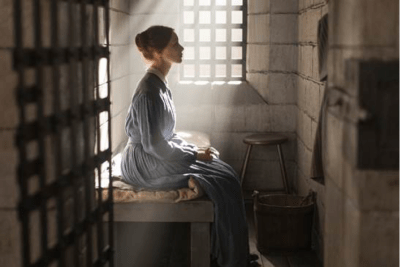 Sarah Gadon as Grace Marks in ALIAS GRACE, courtesy of CBC/Netflix (Photo Credit: Sabrina Lantos)