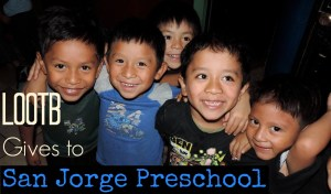 Life Out of the Box Gives to San Jorge Preschool