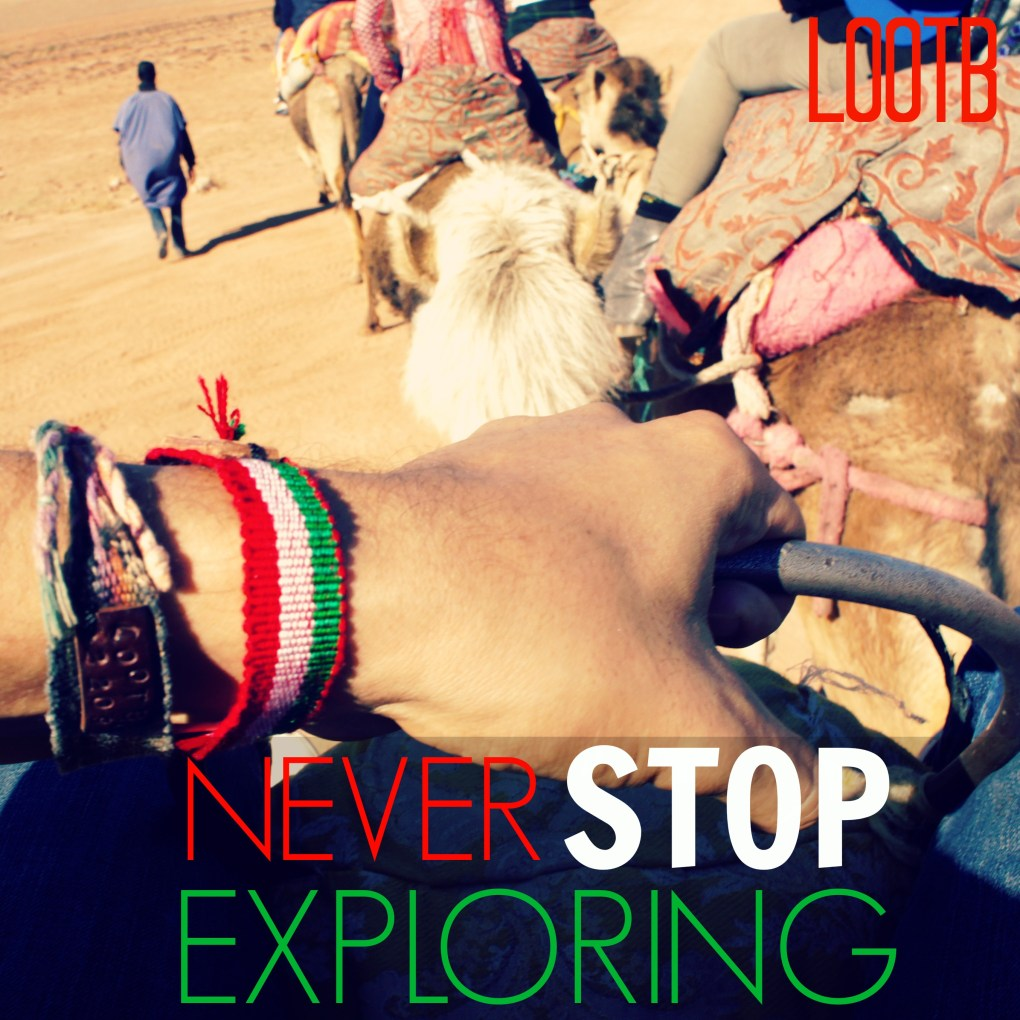 Life Out of the Box: Never Stop Exploring