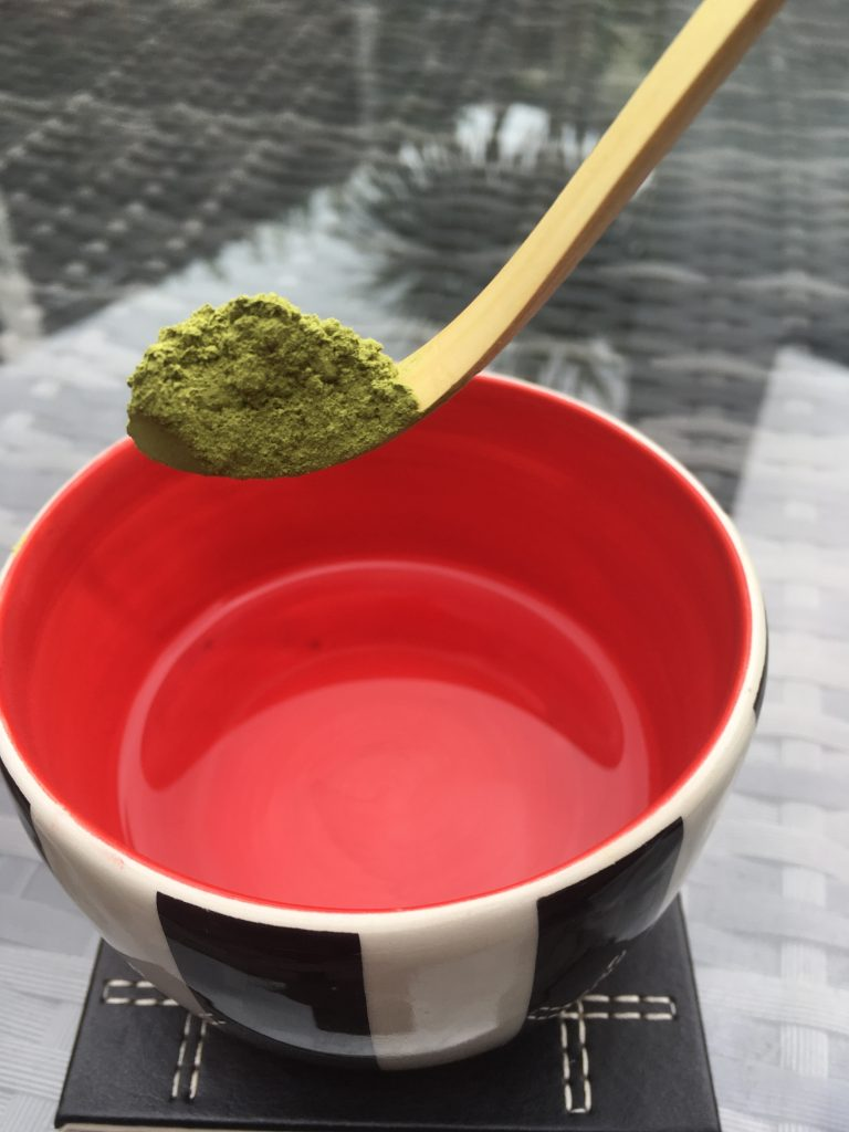 Life Sensei making Matcha Tea