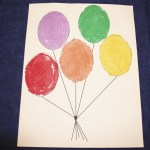 Balloon sand art project