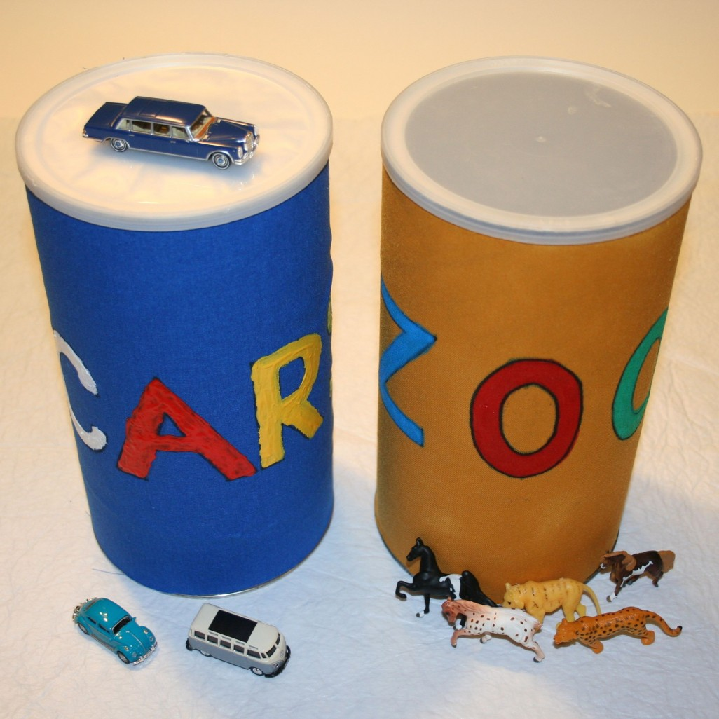 Crafts for Special Needs Children Homemade Storage Containers