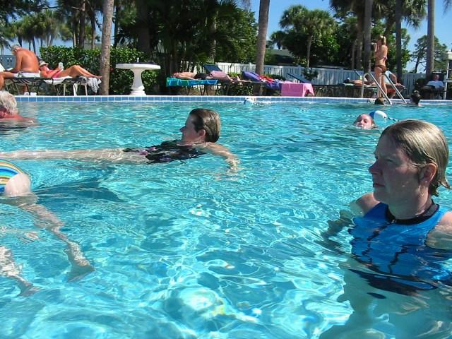 水中ウォーキングで痩せない人がやっているNG実践法と改善策6つ