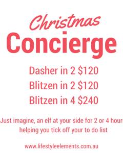 Christmas Concierge 2015
