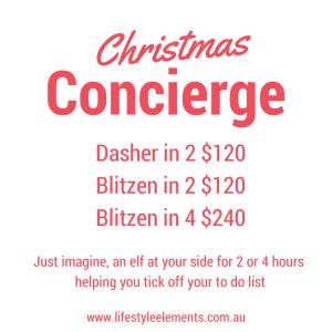 Christmas Concierge 2015