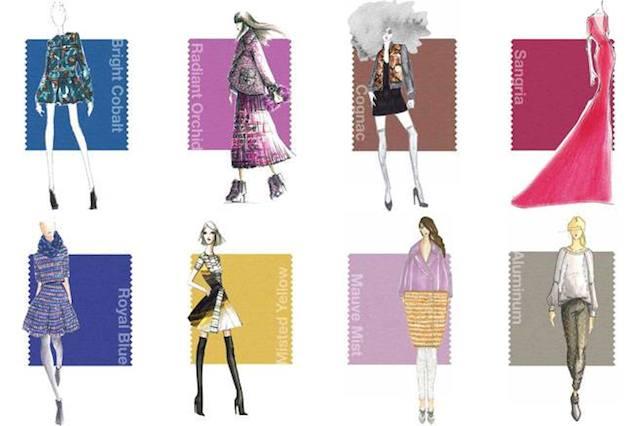 Colori moda autunno-inverno 2014/15 secondo Pantone
