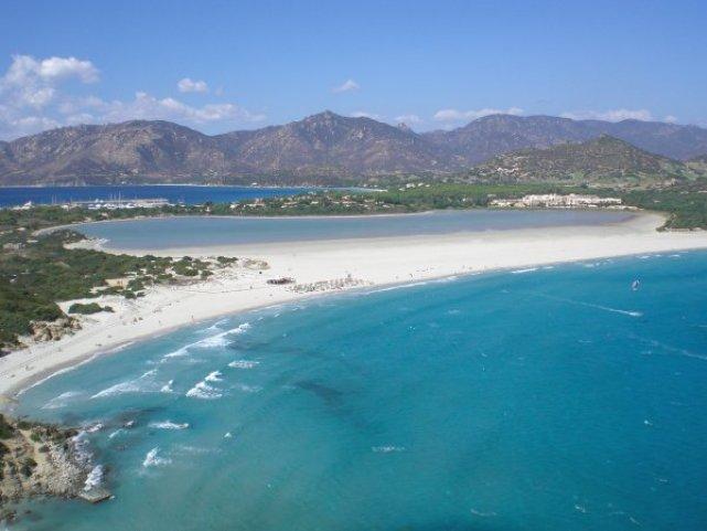 Spiaggia di Porto Giunco (località Villasimius, Cagliari, costa Sud della Sardegna)