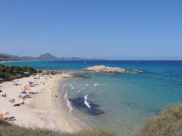 Scoglio di Peppino (località Castiadas in provincia di Cagliari, costa Sud della Sardegna)