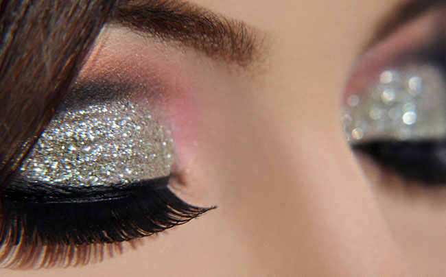make up glitterato-idee-capodanno-2017