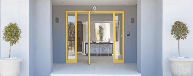 Bliss Boutique Hotel Yellow Front Door