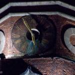 Часы на колокольне. Бронницы. 2008
