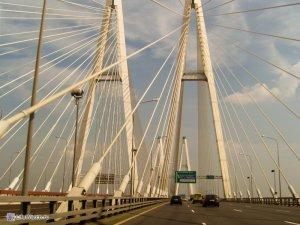 Вантовый мост на КАД