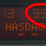 Температура на автомобильном градуснике. Сегодня