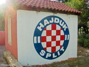 Hajduk Split - местная футбольная команда.