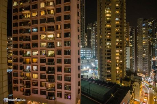 Из окна отеля. Да там было окно ))