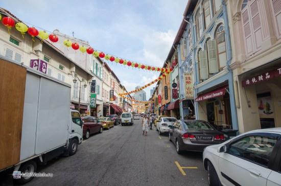 Первое фото в сингапуре. Улочка китайского квартала