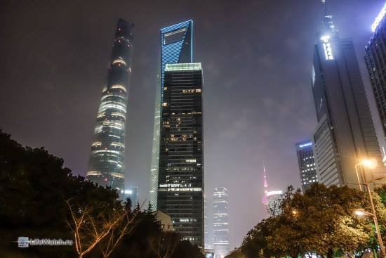 Shanghai tower, SWFC tower и 21st Century Tower