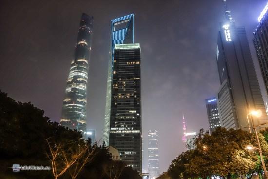 Shanghai tower, SWFC tower и 21st Century Tower