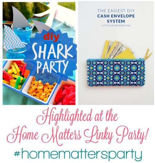 Highlighted Post at the Home Matters Linky Party #42