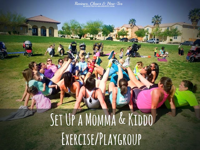 Set-Up A Momma and Kiddo Exercise Play Group - HMLP 42