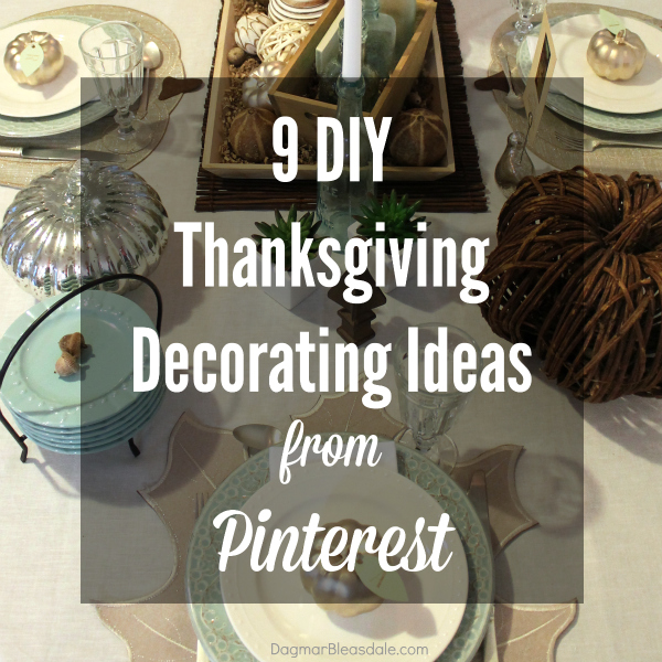 9 DIY Thanksgiving Decorating Ideas - Feature HMLP 61