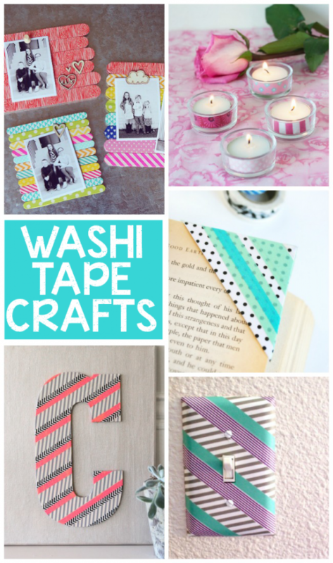 15 Gorgeous Washi Tape Crafts - Kids Activities Blog - HMLP 89 - Feature