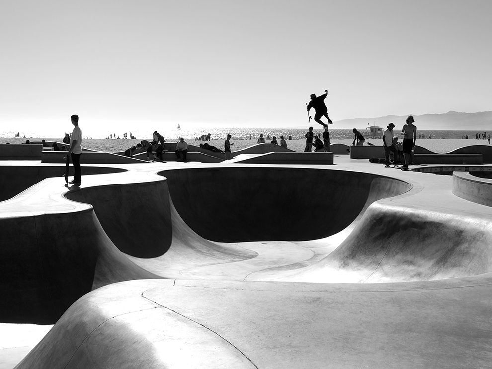 Venice Beach World S Largest Skate Park In Southern