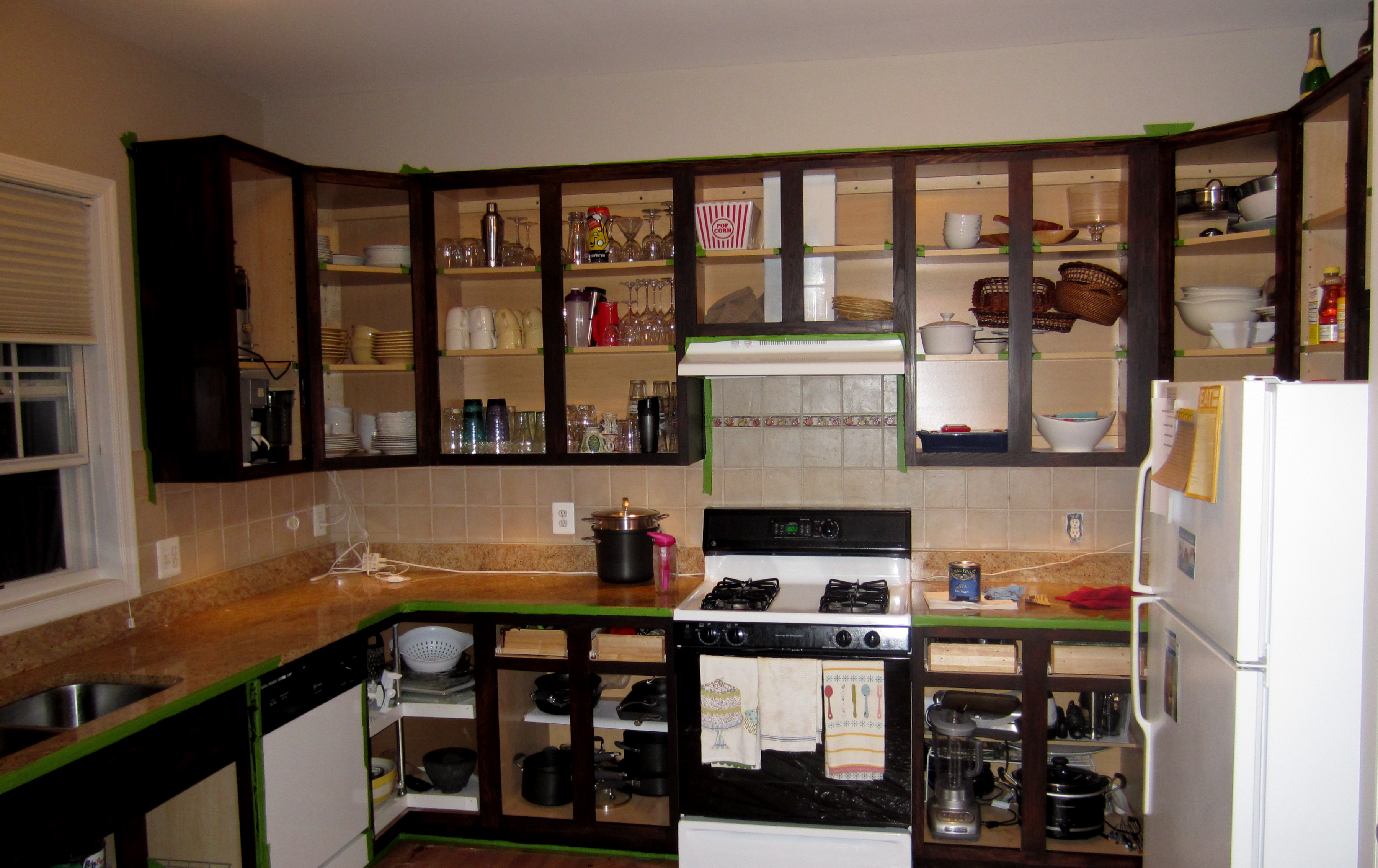 home gel stain kitchen cabinets The