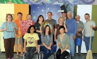 "Pasadena Rotary's ""Done In A Day"" Team, Light Bringer Project and Eliot Arts Successfully Move Room13/Eliot"