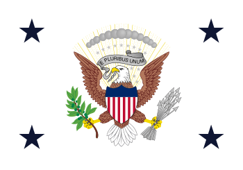 English: Flag of the Vice President of the Uni...