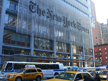 English: New York Times Tower in Manhattan.