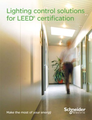New schneider electric brochure breaks down energy cost for Advantages of leed certification