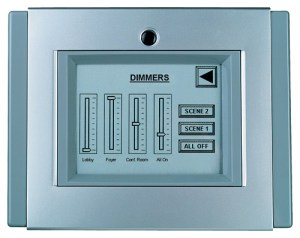Square D® Clipsal® Monochrome Touchscreen Designed for Versatility in Commercial Applications