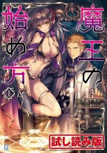 Volume1 Illustration Cover - Maou no Hajimekata - Light Novels Translations